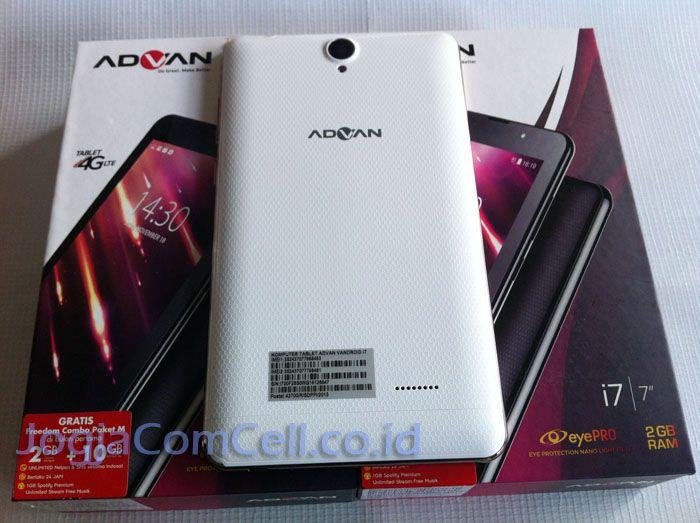 Tablet Advan I7 Plus Koneksi 4G LTE