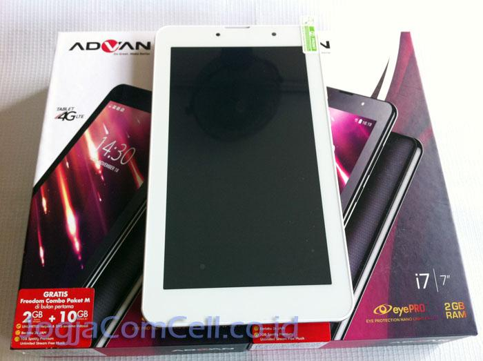 Advan I7 Plus Tablet 7 Inchi Jaringan 4G LTE Internet Super Cepat
