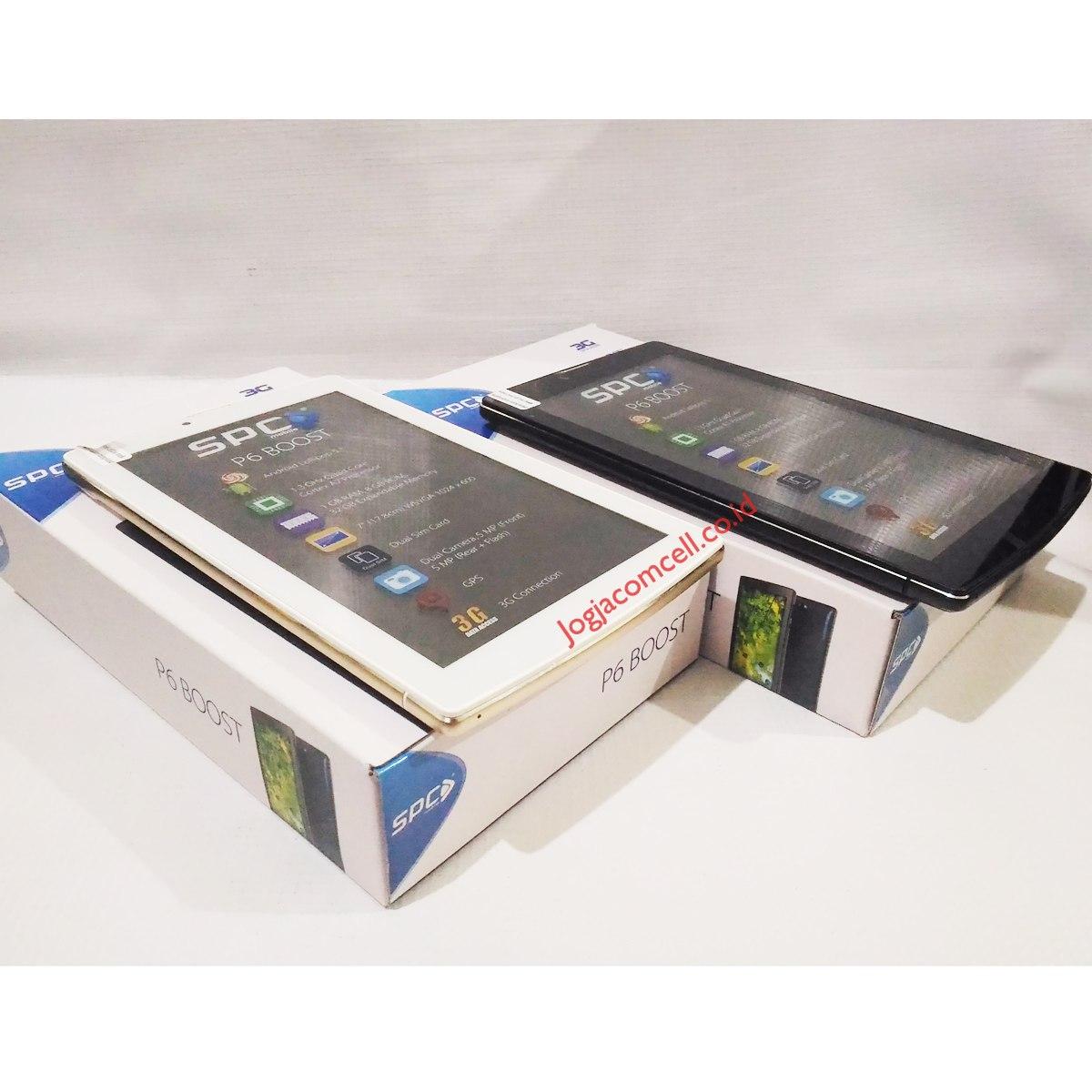 tablet spc p6 boost dual kamera