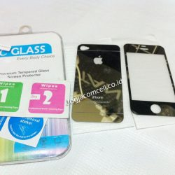 Tempered Glass IPhone 4 Gold